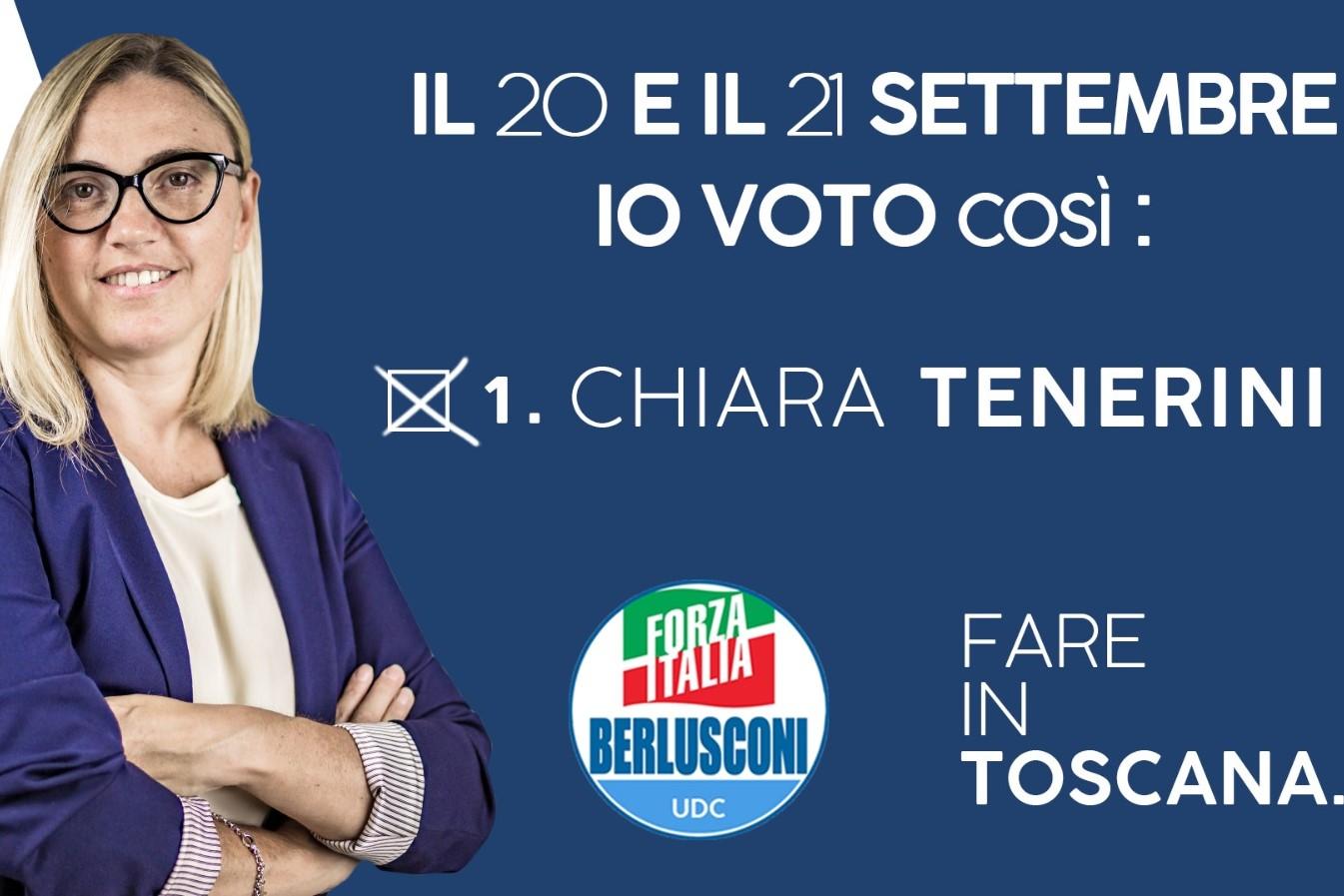 Tenerini: Elezioni, Forza Italia unico voto possibile
