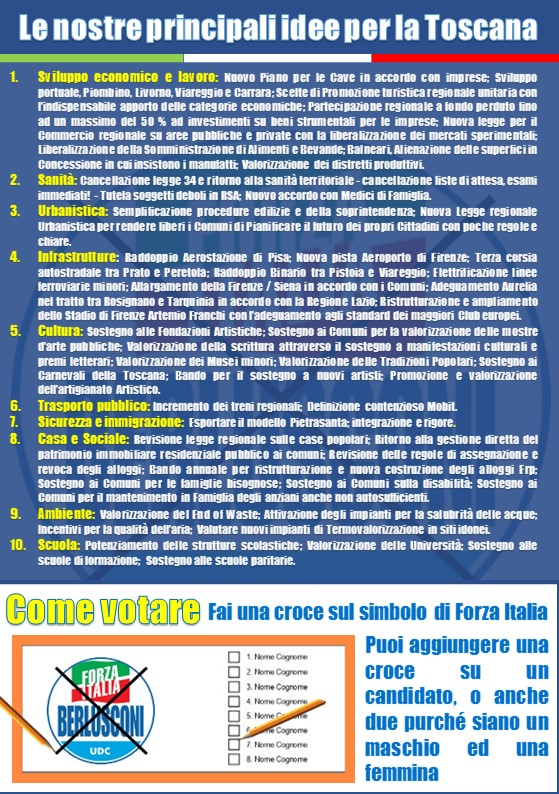 Elezioni regionali Toscana 2020 2