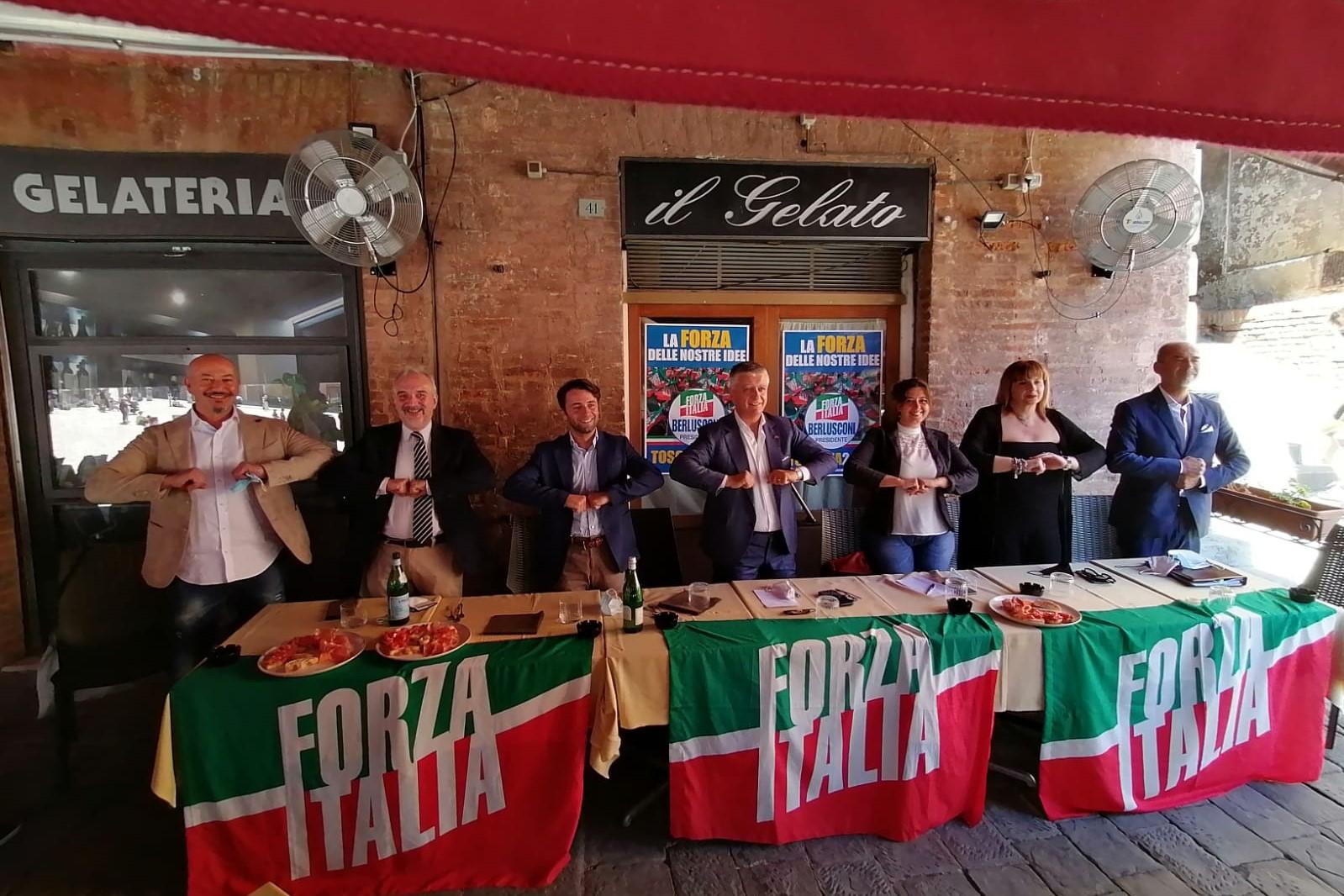 Mallegni: Incontro a Siena con i candidati alle regionali