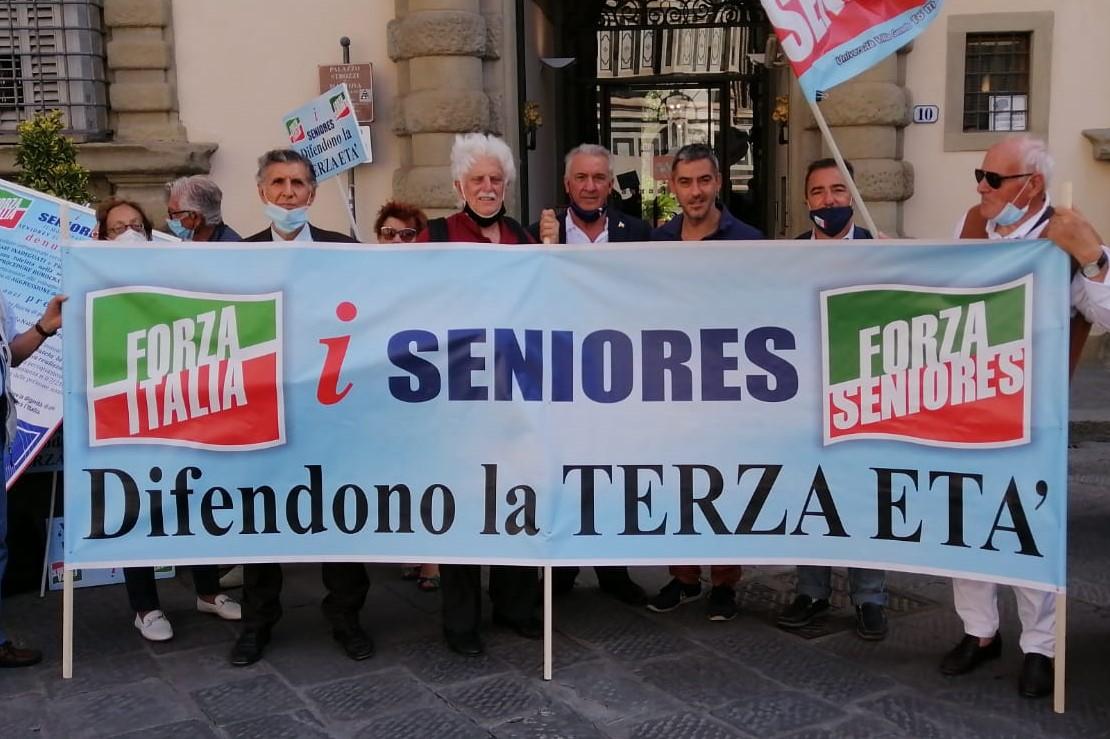 Mallegni: Flash Mob dei seniores per la terza età