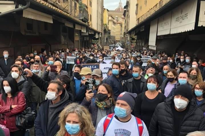 Stella: A Roma con marcia Ristoratori Toscana