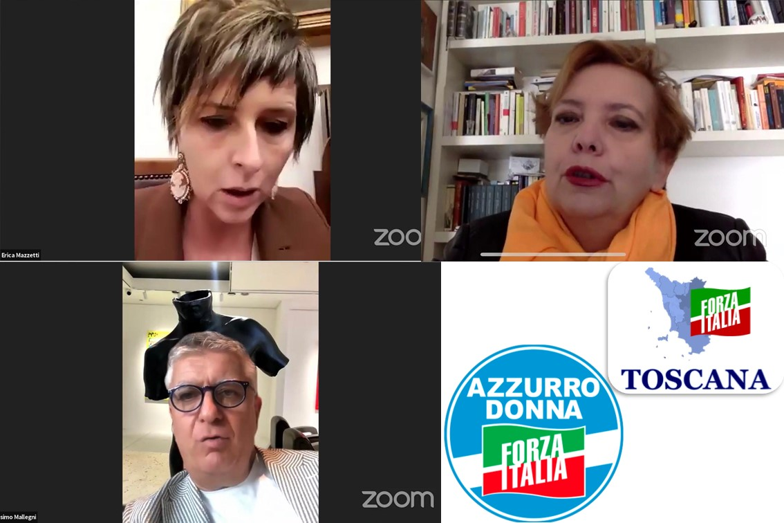Azzurro Donna: Conferenza per il 25 Novembre