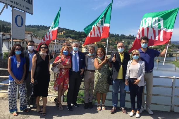 Lastra a Signa: Ponte del Giglio, opposizione costruttiva