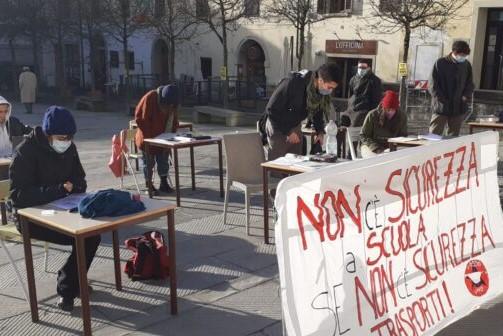 Pontassieve studenti in piazza