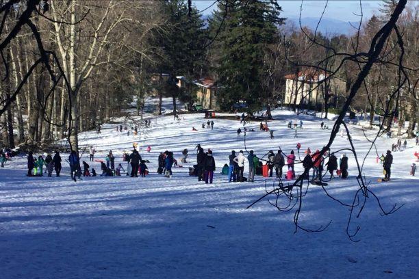 Gandola: Vallombrosa, ressa sulla neve e impianti chiusi