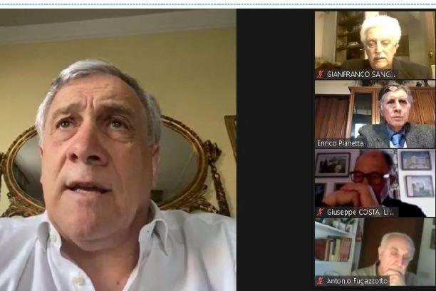 Seniores: Riunione con il Coordinatore Nazionale Tajani
