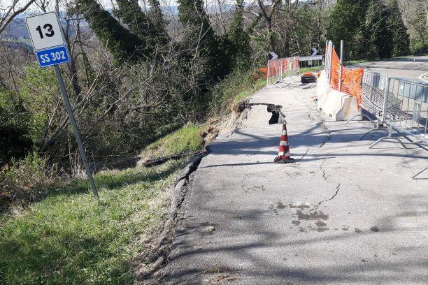 SR 302 Faentina: abbandono, incuria e pericolo
