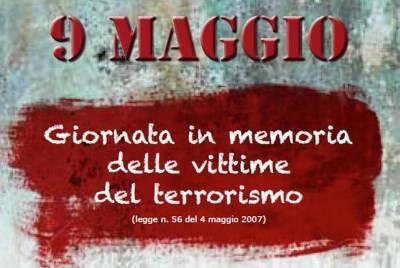 Pisa: 9 maggio, commemorazione vittime terrorismo