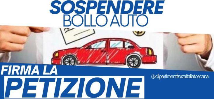 banner petizione bollo auto