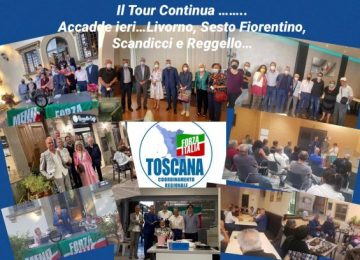 Iniziato il Toscana Tour: Livorno e la provincia di Firenze