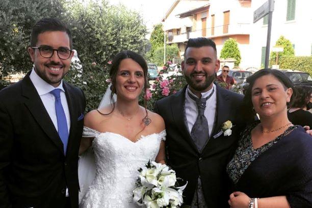 Campi: Si è sposato il coordinatore Angelo-Victor Caruso