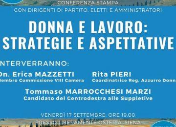 Siena, incontro Donna e lavoro: strategie ed aspettative
