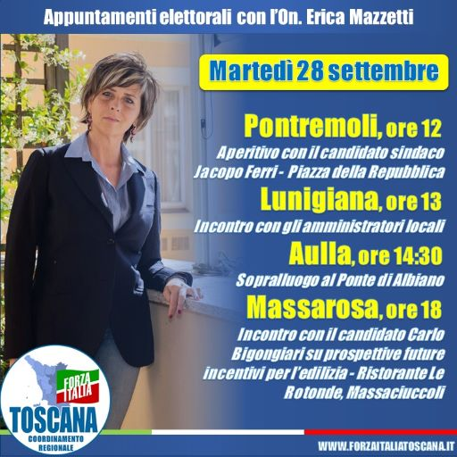 incontri Erica Mazzetti Lunigiana