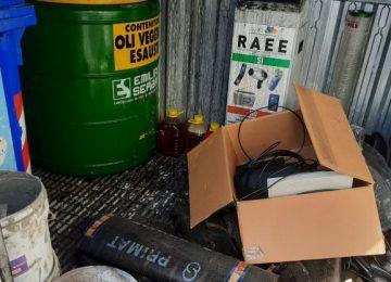 Dicomano, la stazione eco-box è ridotta ad una discarica